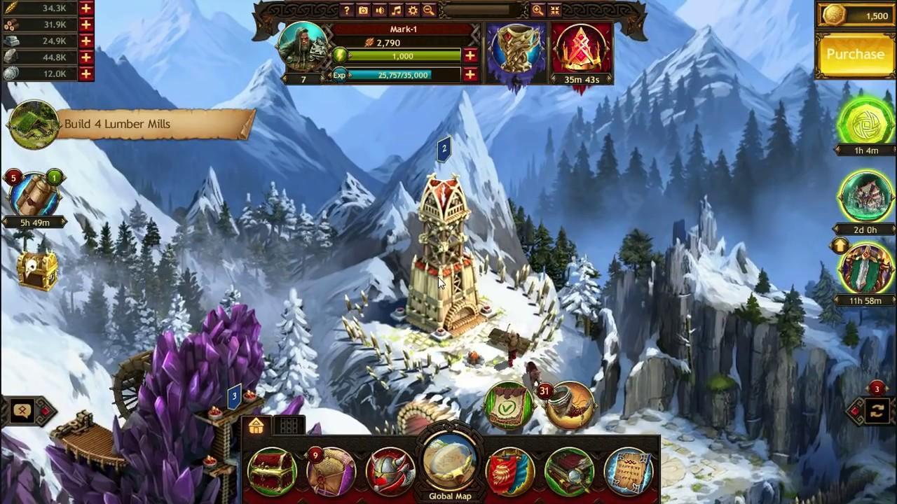 Картинки по запросу vikings war of clans геймплей