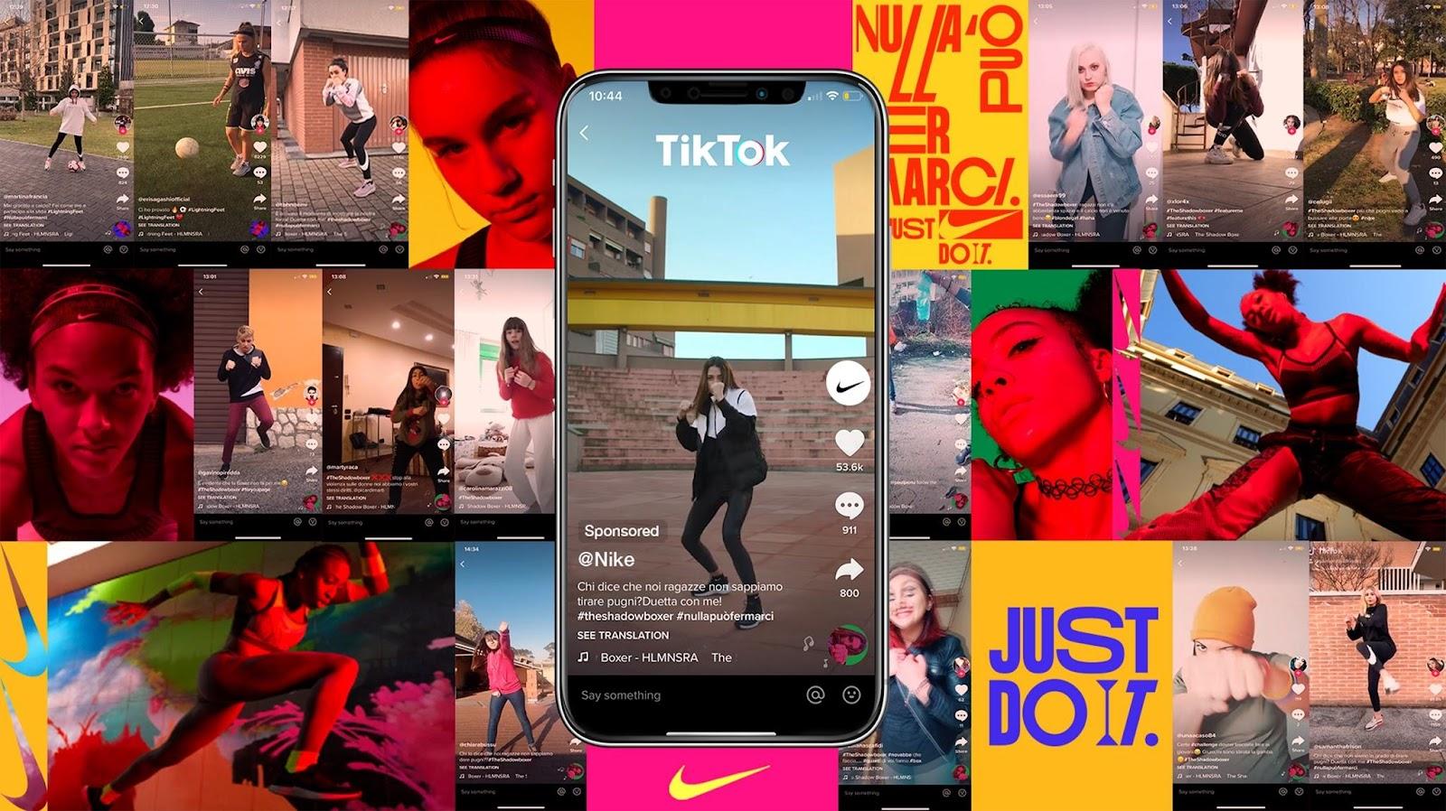TikTok thúc đẩy sự sáng tạo không giới hạn của người dùng (Ảnh: marketingreview.vn)