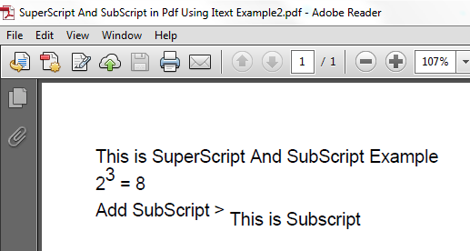JavaMadeSoEasy com (JMSE): How To Set SuperScript And