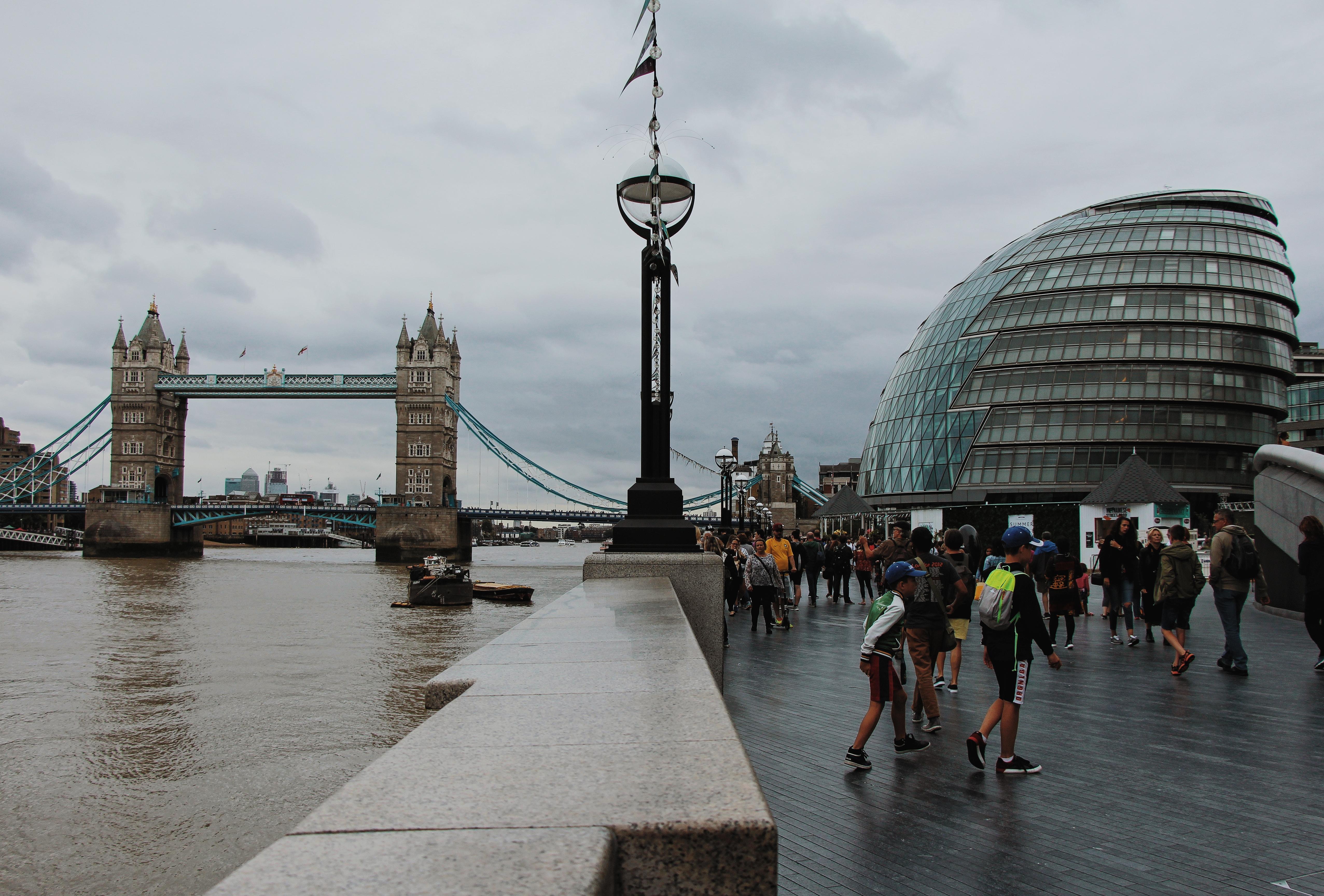 Londra, Southwark, Tower Bridge e City Hall