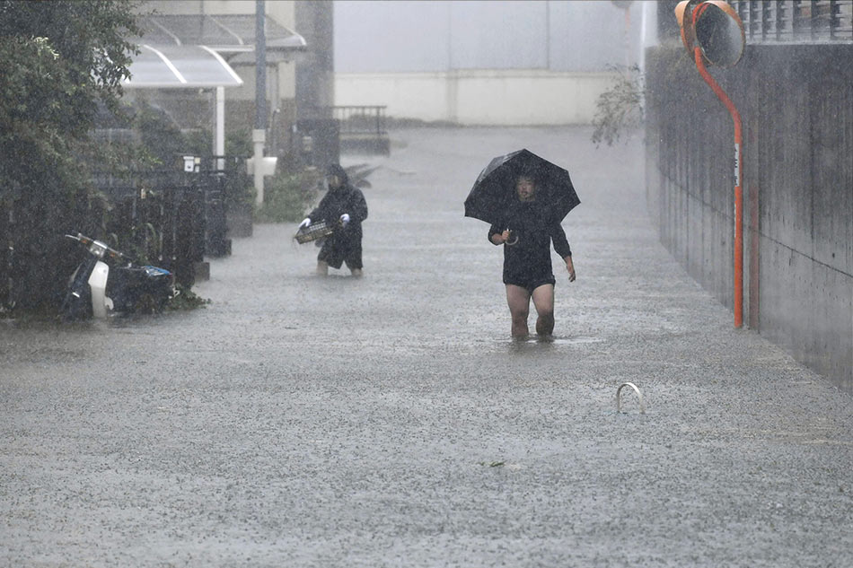 ¡Japón queda terriblemente afectado por tifón Hagibis!