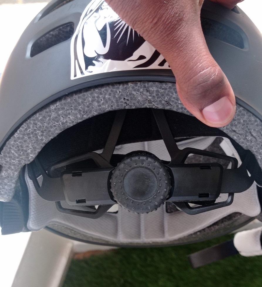 otudoormaster helmet back dial