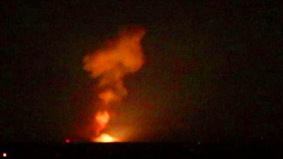 حملات هوایی اسرائیل به حضور نظامیان ایران در سوریه