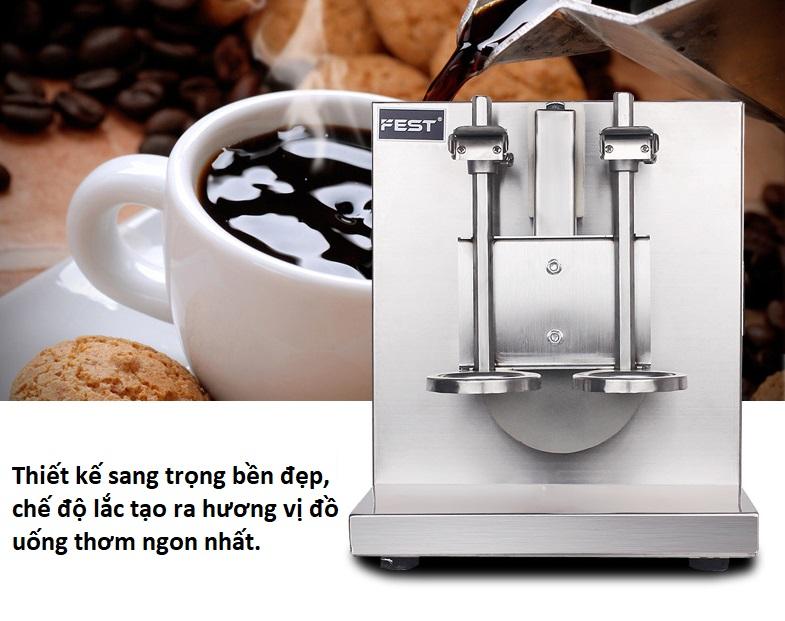 Máy lắc trà sữa đôi Fest- M1 - ảnh 4