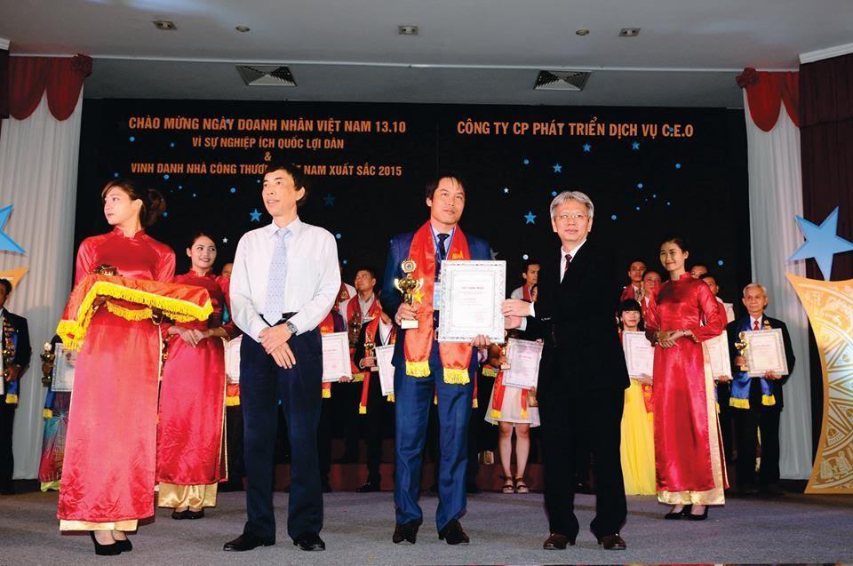 công ty CEO xuất khẩu lao động Nhật Bản nhận giải thưởng