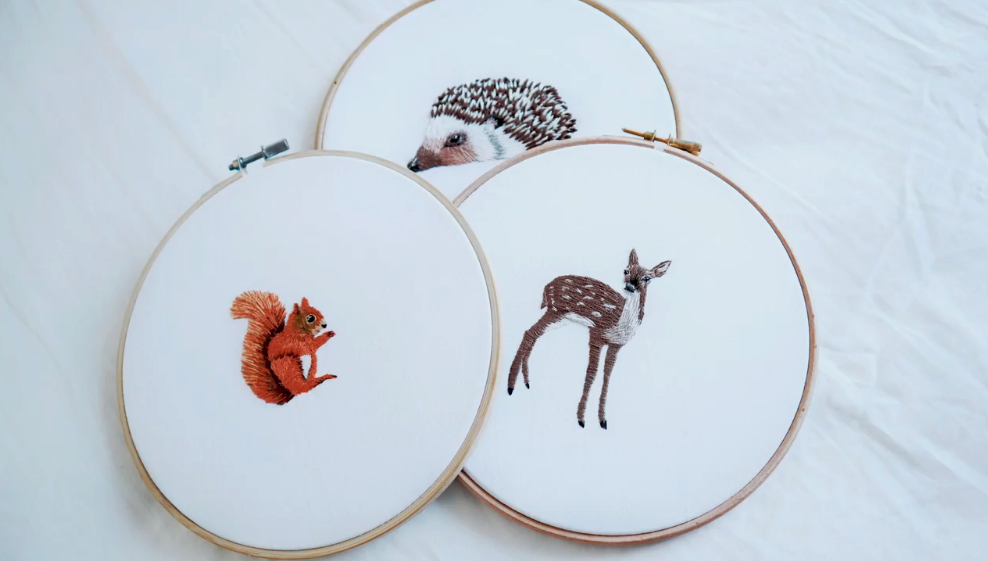 animal embroidery