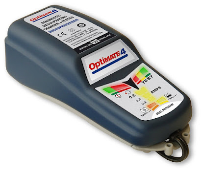 OptiMATE Lithium 4s 0.8A 8-Step 12.8//13.2V 0.8A Battery Saving Charger-Tester-maintainer TM-471