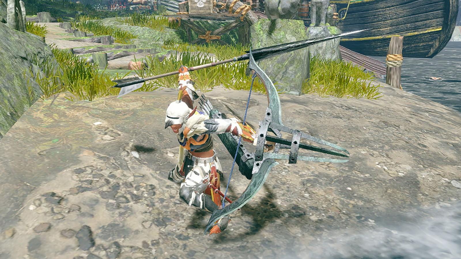 monster hunter range weapons