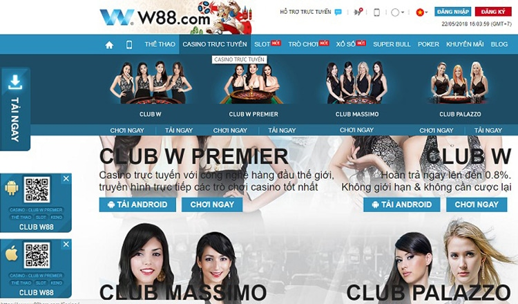W88 - Cái tên nói lên chất lượng