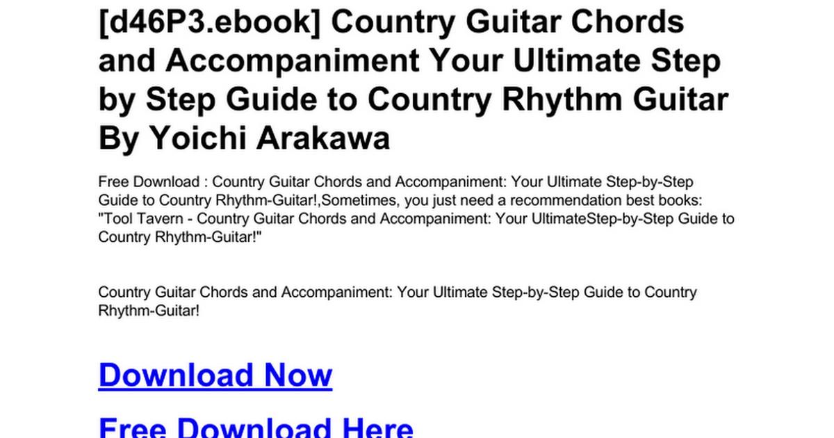 Contemporary Guitar Chords Country Roads Photos - Beginner Guitar ...