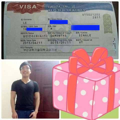 nhận hỗ trợ xin visa du học hàn quốc