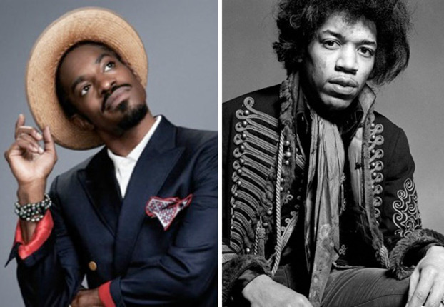 Music & Menswear: Andre 3000 as Jimi Hendrix