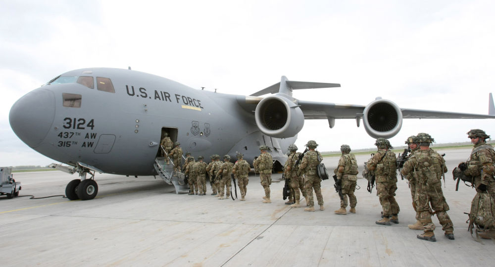 Американские военнослужащие