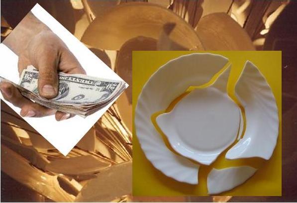 Billedresultat for pagar los platos rotos