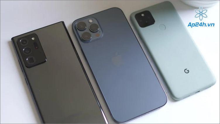 So sánh khả năng chụp ảnh của iPhone 12 Pro Max, Pixel 5 và Galaxy Note 20 Ultra