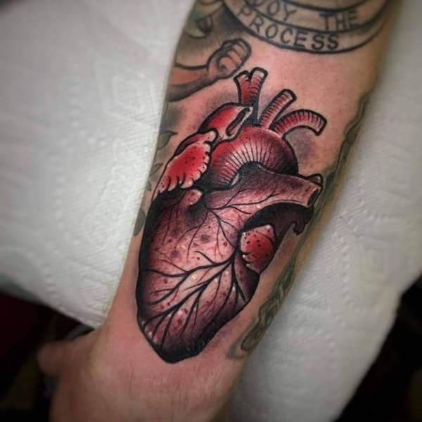 ลายสักหัวใจสี2