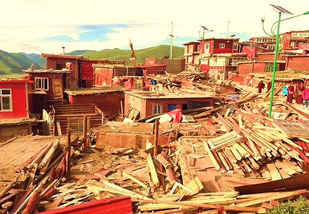 phá dở học viện phật giáo, Học viện Phật giáo Tây Tạng, học viện Phật giáo Larung Gar,