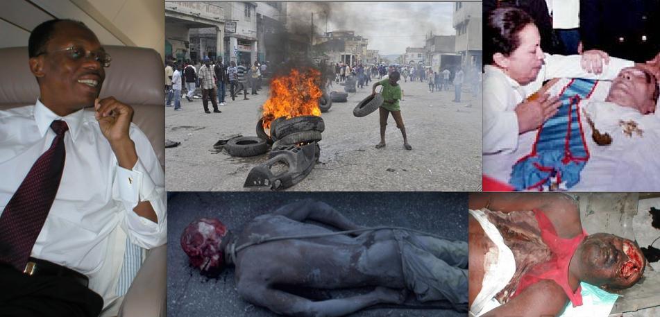 Image result for aristide haiti  photos