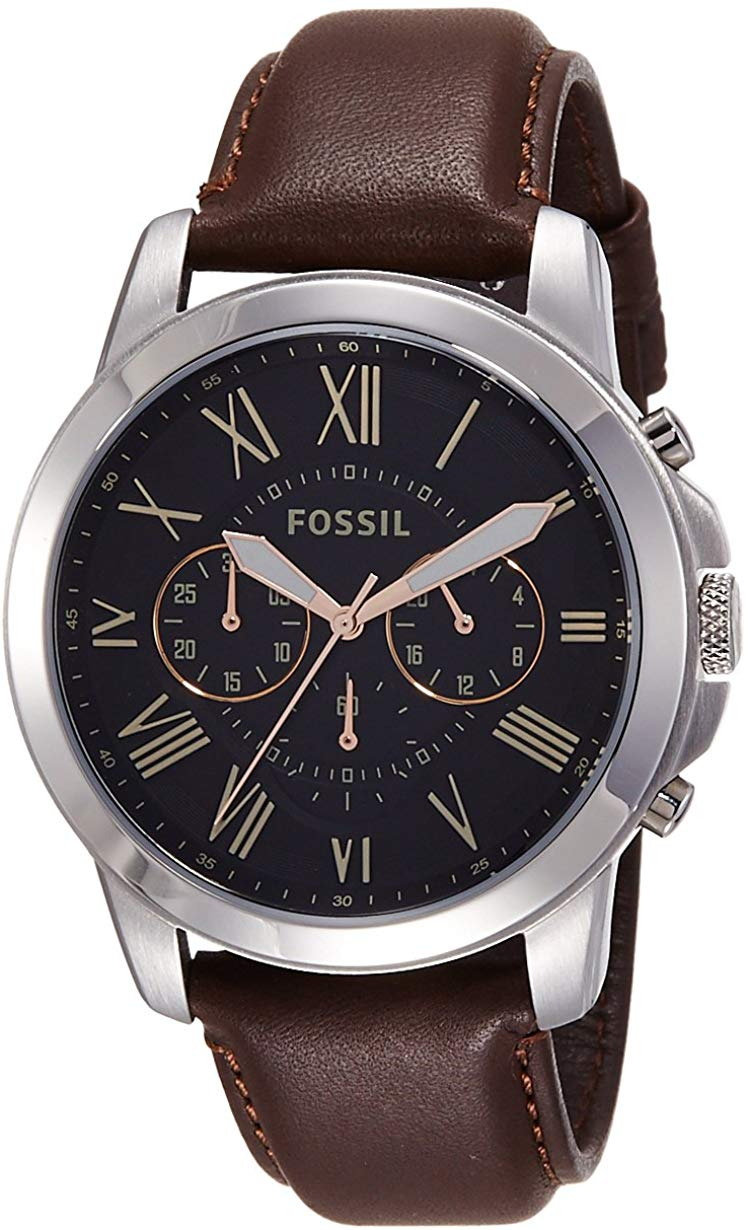 Fossil FS4813I Grant Chronograph Watch