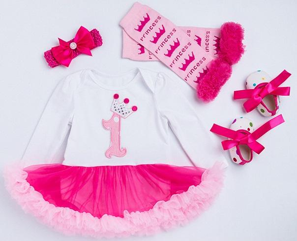 Sukienka dla dziewczynki na roczek