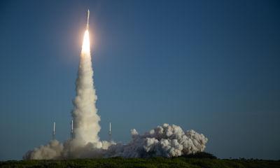 Perseverance on its way to Mars; SOURCE: NASA