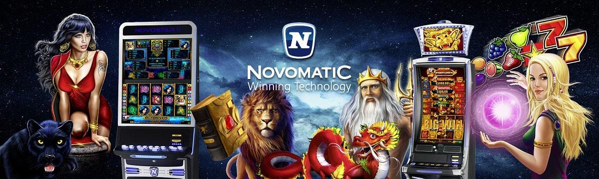 Novomatic - легендарный провайдер азартных игр.