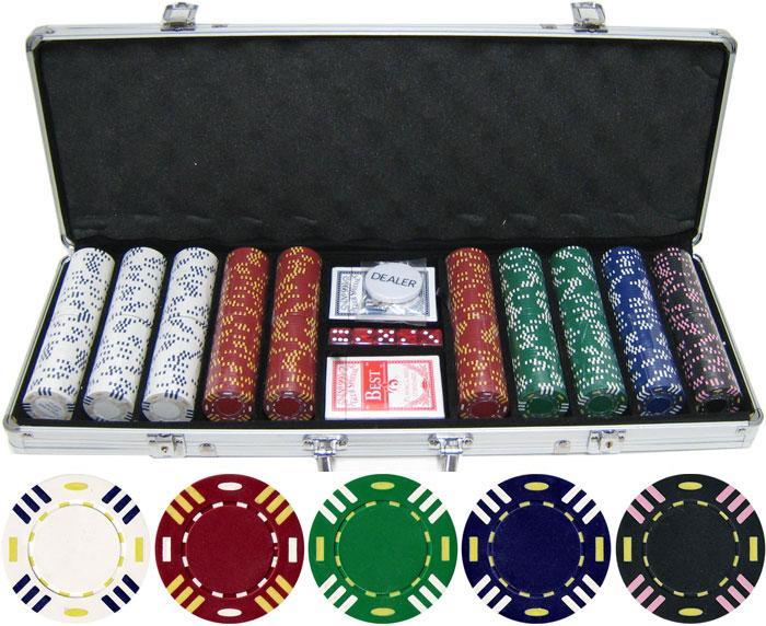 Poker sử dụng chip để thay thế cho tiền cược