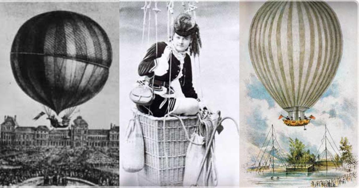 gaisa balona vēsture