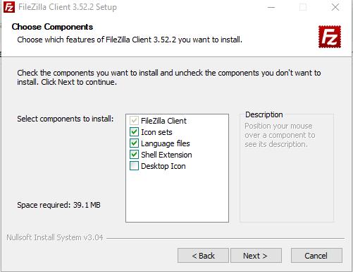 Cara Install FileZilla image 3