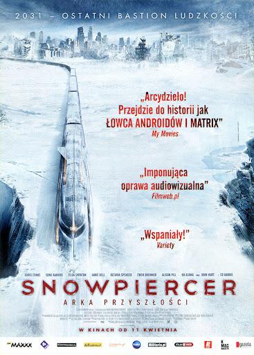 Przód ulotki filmu 'Snowpiercer: Arka Przyszłości'