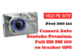Camera Auto Zenteko Premium Full HD SM160 cu tracker GPS