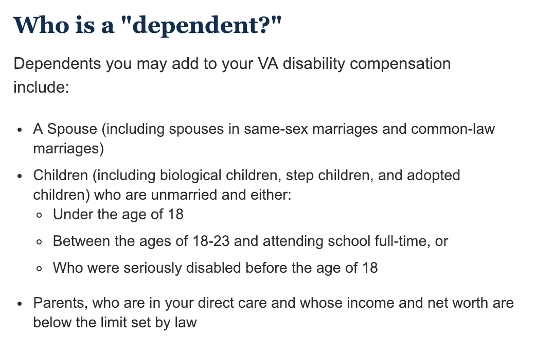 Getting the RIGHT Disability Compensation for You...AND Your Dependents