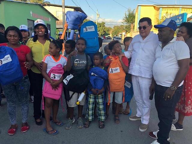 Fundación Alejandro Asmar lleva gran operativo médico y de fumigación a San Juan de la Maguana