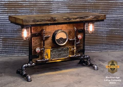 Steampunk Bedroom Table