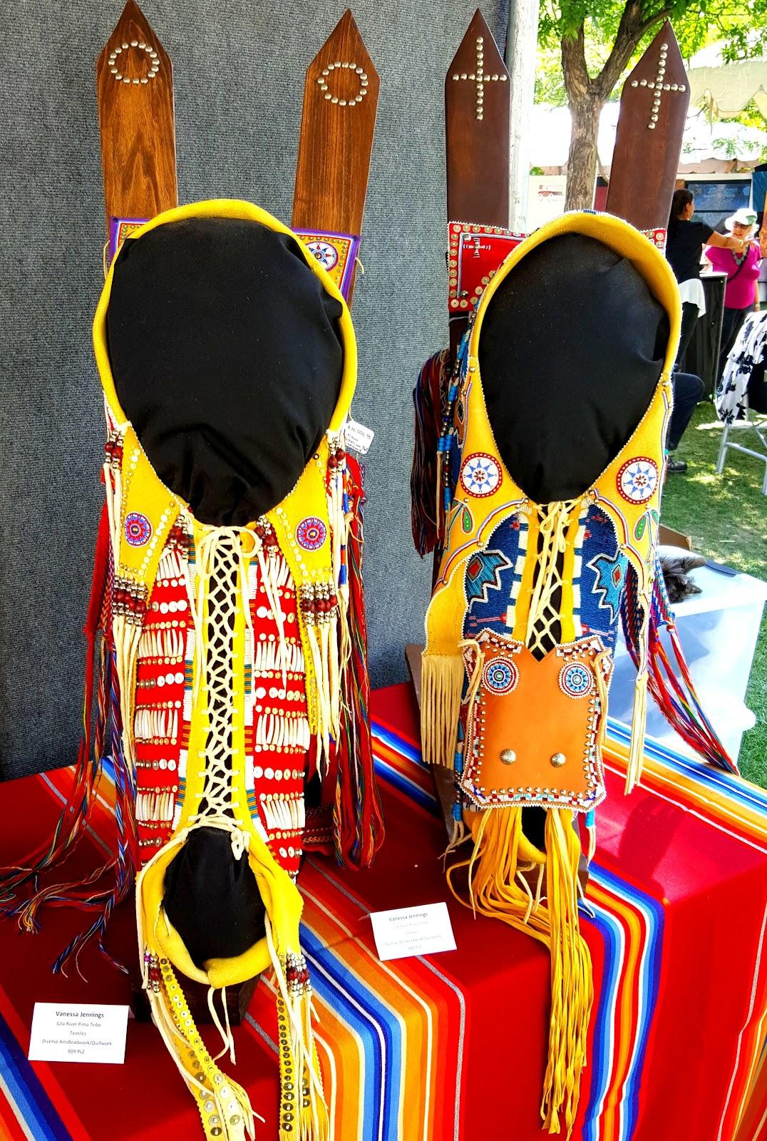 Vanessa Paukeigope Jennings (Kiowa/Apache/Gila River Pima) artistry - Photo: Harlan McKosato