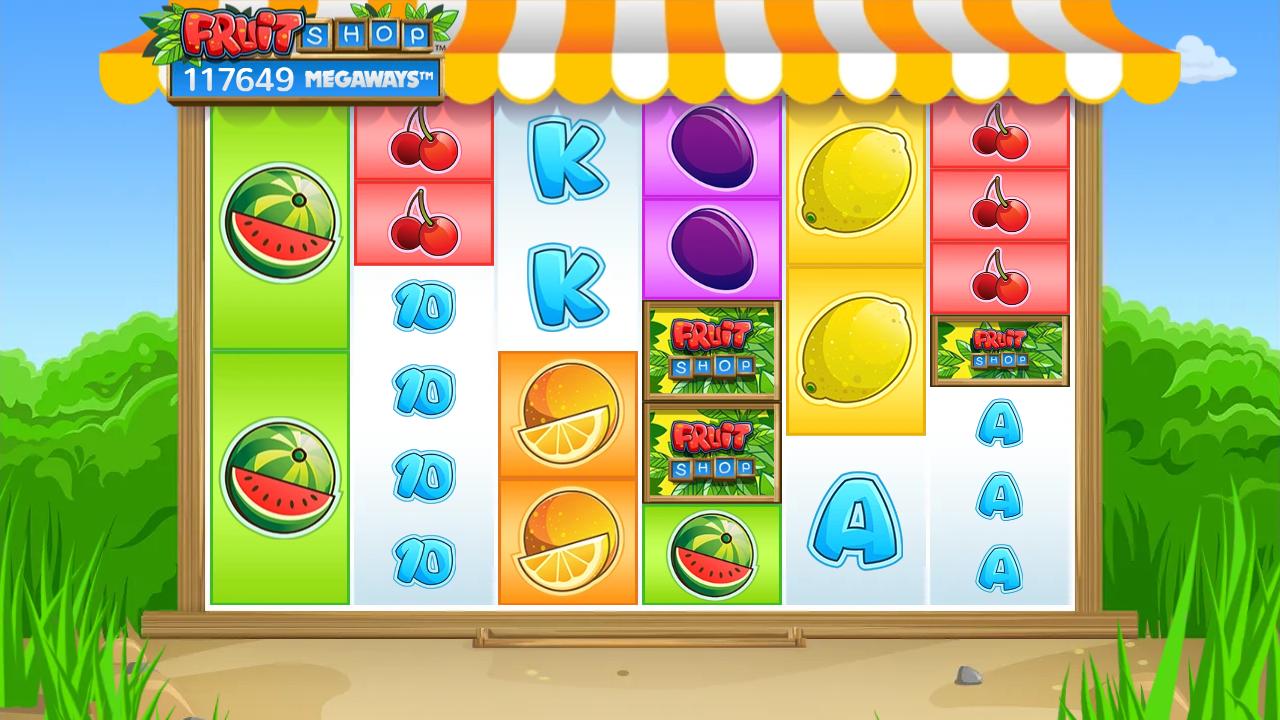 Fruit Shop Megaways spēļu automāts Latvijā