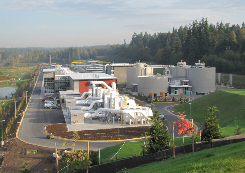Brightwater Advanced Wastewater Treatment Plant in Woodinville