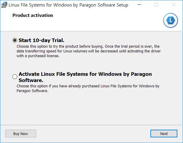 Windows에서 Linux 파티션(Ext2 / Ext3 / Ext4)을 마운트하여 읽고 쓰기