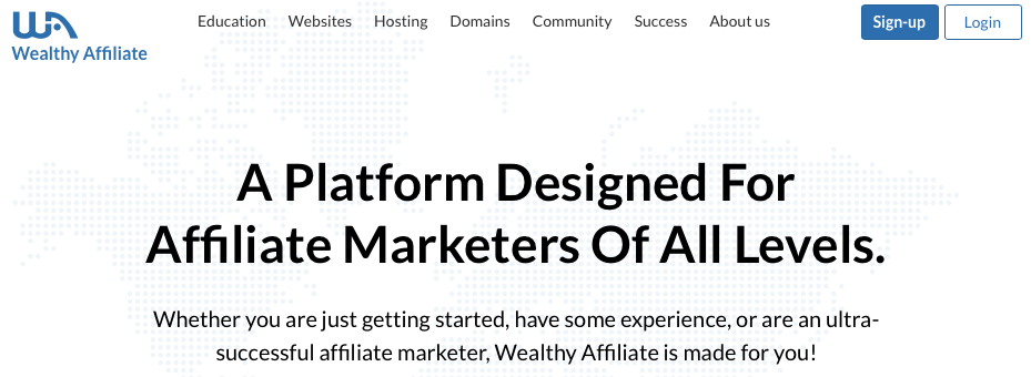 Wealthy Affiliate - Ultimate How To Make Money Online Guide For Beginners