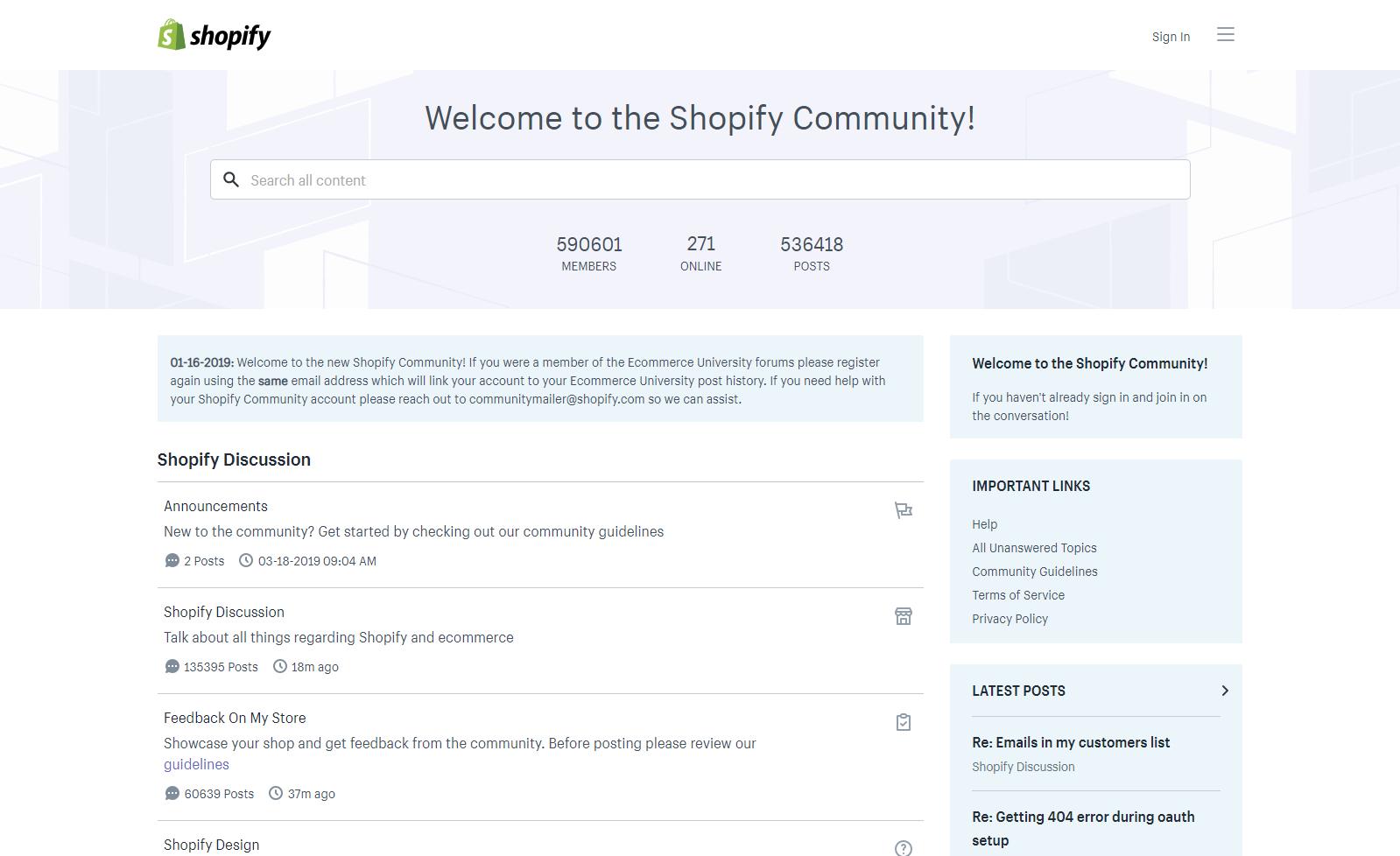 Shopify social flatform
