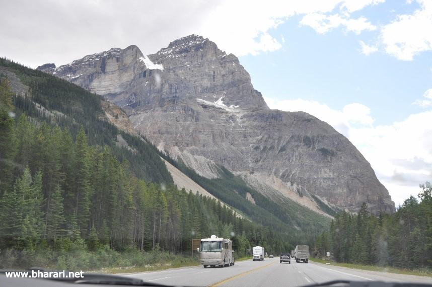 Spectacular scenery ... from the comfort of your car (Trans-Canada highway)
