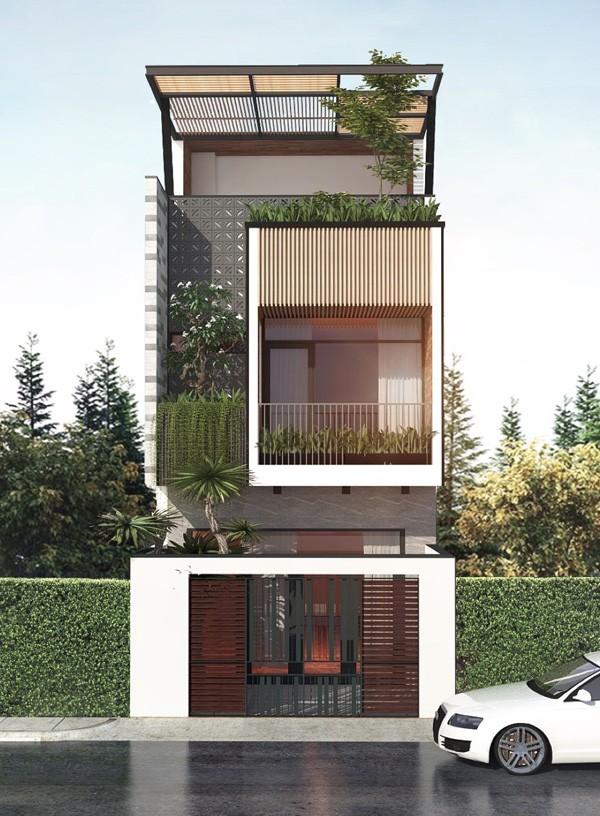 mẫu nhà 3 tầng đẹp