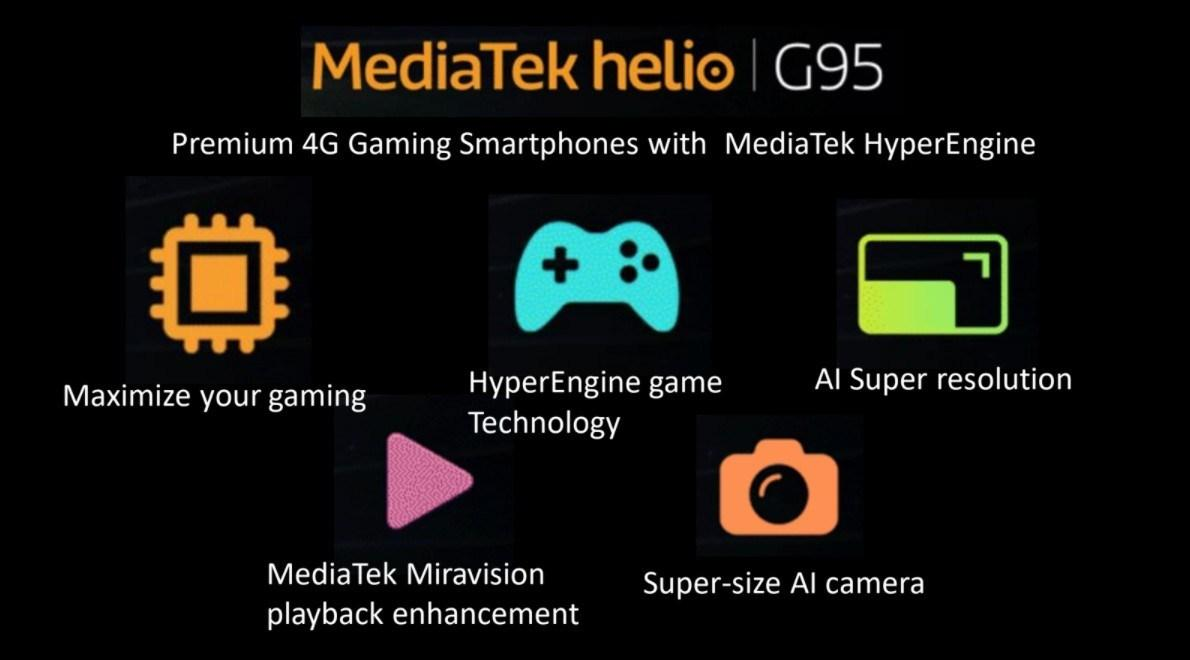 Helio G95 features