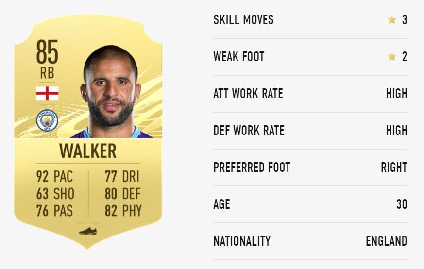 FIFA 21 Kyle Walker