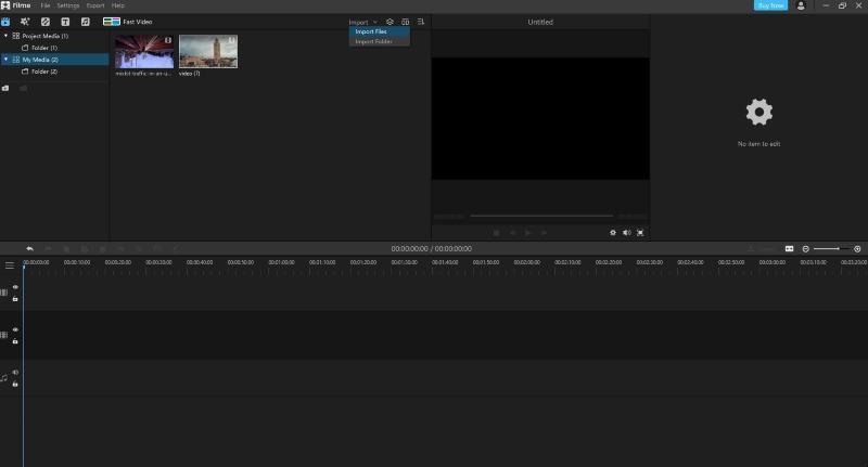 select audio filme