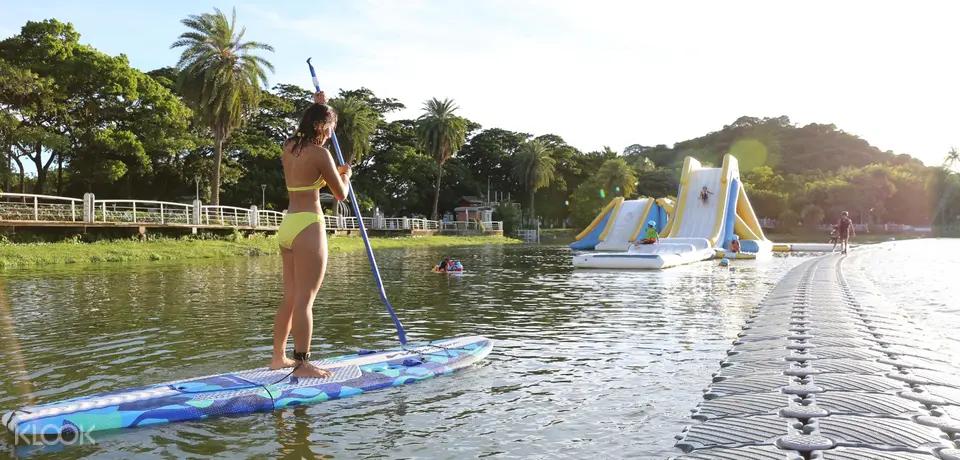 國際級纜繩滑水蓮池潭滑水主題樂園