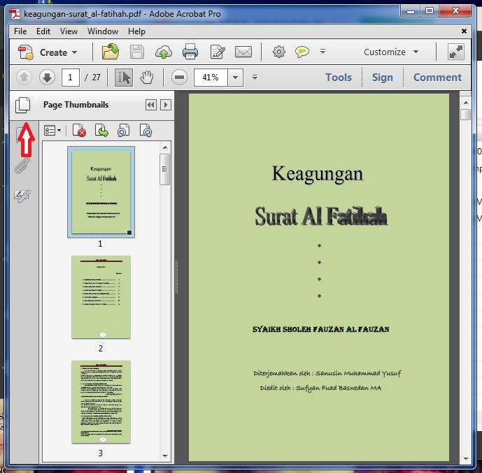 cara menggabungkan file pdf menjadi satu dengan adobe reader xi