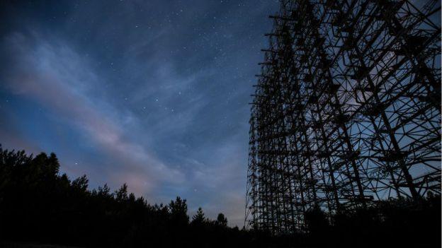 Радиолокационная станция «Дуга» была одной из трех, которые должны были отслеживать запуски ракет в США. Фото Eugene Madatov