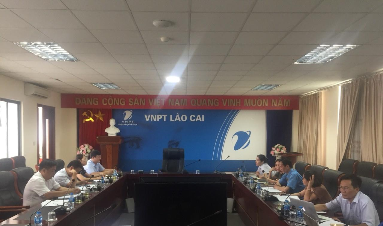 Thoản thuận hợp tác với Viễn thông Lào Cai
