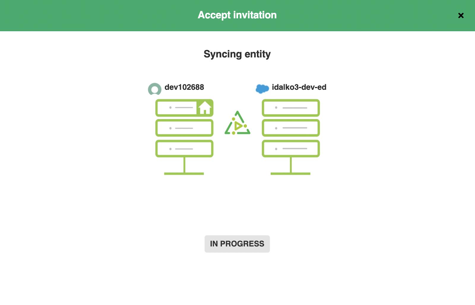 Salesforce ServiceNow Integration in progress